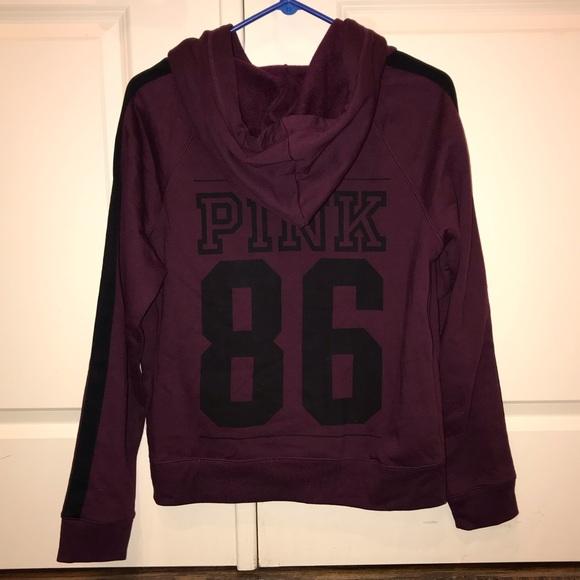 PINK Victoria's Secret Tops - PINK Victoria's Secret Fashion Show Hoodie Size L